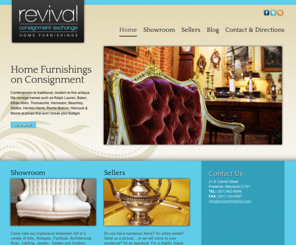 Frederick Revival Consignment
