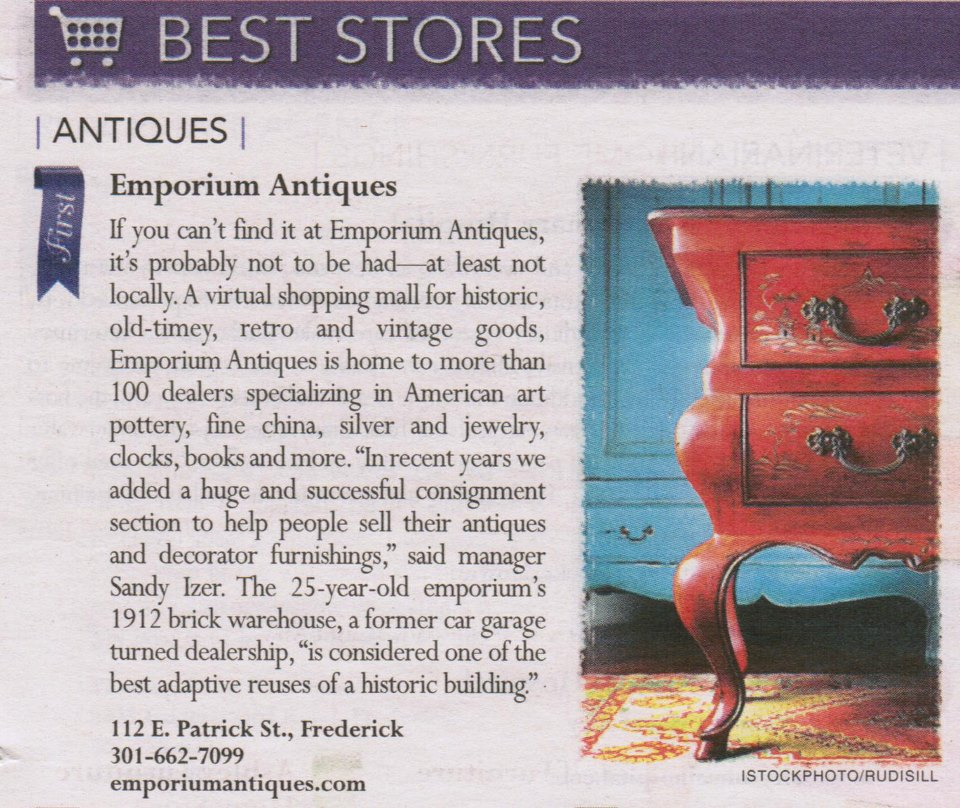 Emporium Antiques Article