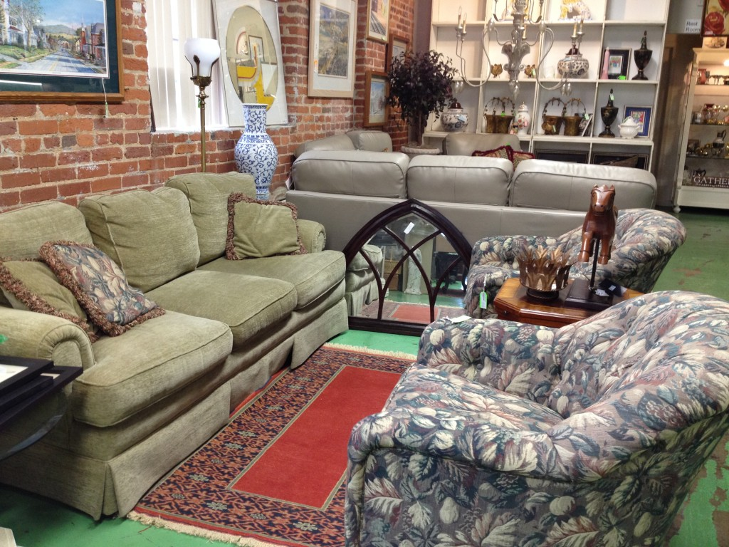 Sherrill Sofa and Side Chairs