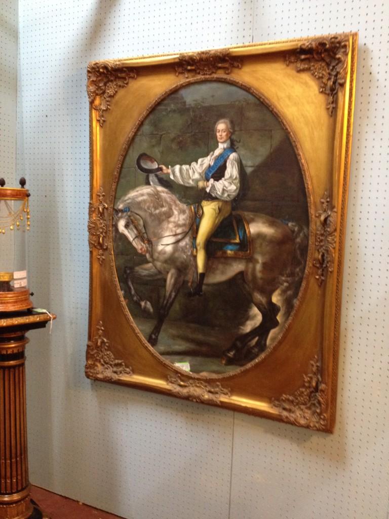 Gentleman on Horseback, Gicleè